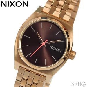 時計 ニクソン NIXON ミディアムタイムテラーA1130-2617 腕時計 レディースブラウン ...