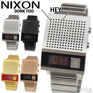 ニクソン NIXON ドーク トゥー DORK TOO A1266 腕時計 34mm ボイス機能|ryus-select