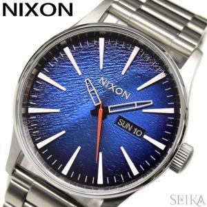 (レビューを書いて5年保証) 時計 ニクソン NIXON セントリーSS A356-2660 A3562660腕時計 メンズ ブルー シルバー(D10)|ryus-select