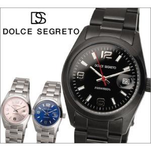 【当店ならお得クーポンあり】ドルチェセグレート DOLCE SEGRETO 時計 腕時計 (AA100BB)(AA100CP)(AA100MB) メンズ レディース|ryus-select