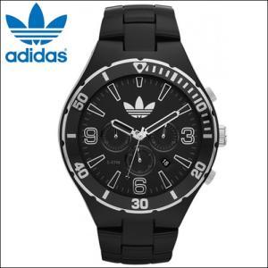 アディダス adidas メルボルン 時計 腕時計 メンズ ブラック ADH2741 (k15)|ryus-select