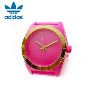 【商品入れ替えクリアランス】アディダス adidas サンティアゴ 時計 腕時計型 置時計 掛け時計 ピンク ADH2804SG (k15)|ryus-select