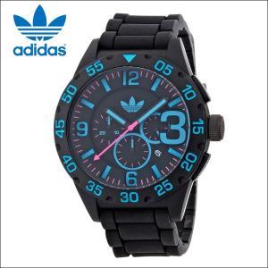 アディダス adidas ニューバーグ 時計 腕時計 メンズ  ブラック シリコン ADH2886 (k15)|ryus-select