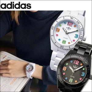 (クリアランス)アディダス/adidas レディース 時計(ADH2941/ホワイト)(ADH2943/ブラック)BRISBANE|ryus-select