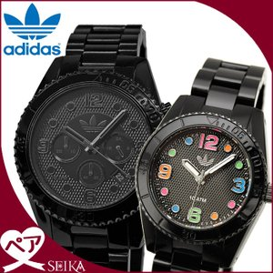 【当店ならお得クーポンあり】ペアウォッチ アディダス adidas ブリスベン時計 腕時計  メンズ レディースADH2983 ADH2943 ブラック ryus-select