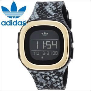 時計 アディダス adidas メンズ レディース (ADH3045) ブラック スネーク柄 デジタル DENVER (デンバー)|ryus-select