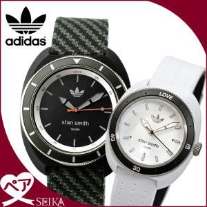 ペアウォッチ アディダス adidas スタンスミス時計 腕時計  メンズ レディースブラック ブラック グレー ホワイト ADH3155 ADH3187 ryus-select