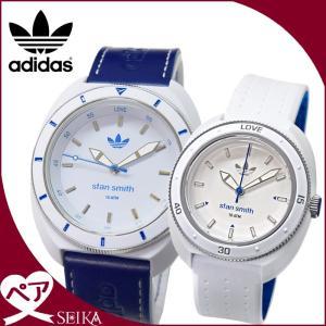 【当店ならお得クーポンあり】ペアウォッチ アディダス adidas スタンスミス時計 腕時計  メンズ レディースホワイト ブルー ADH9087 ADH3123 ryus-select