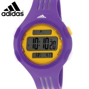 【当店ならお得クーポンあり】アディダス adidas  ADP3148 時計 腕時計メンズ レディース ユニセックス クエストラ イエロー パープル デジタル (k-15)|ryus-select