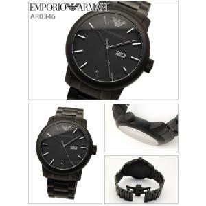 エンポリオアルマーニ メンズ腕時計AR0346/オールブラック|ryus-select|02