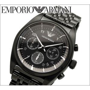 エンポリオアルマーニ メンズ腕時計 オールブラック(AR0374)|ryus-select