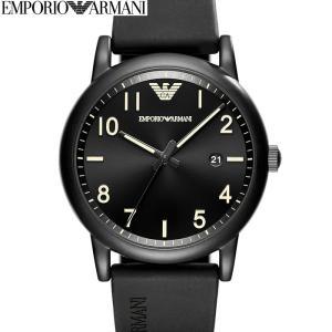 (レビューを書いて5年保証) (スプリングクリアランス) 時計 エンポリオアルマーニ EMPORIOARMANI AR11071 腕時計 メンズブラック ラバー (k-15) 父の日|ryus-select