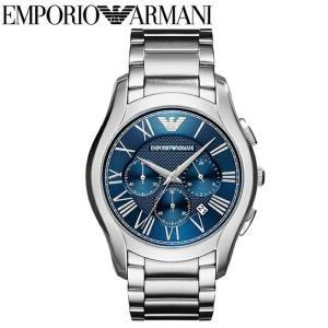エンポリオアルマーニ EMPORIO ARMANIAR11082 腕時計 時計 メンズブルー シルバー バレンテ クロノグラフ コレクション|ryus-select