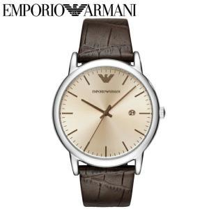 (レビューを書いて5年保証) 時計 エンポリオアルマーニ EMPORIO ARMANIAR11096 腕時計 メンズブラウン レザー 20周年記念モデル 父の日|ryus-select