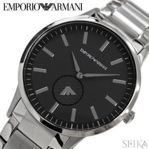 (レビューを書いて5年保証) (スプリングクリアランス) 時計 エンポリオアルマーニ EMPORIO ARMANI AR11118 腕時計 メンズ ブラック シルバー 父の日|ryus-select