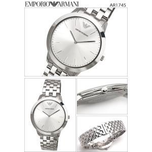 エンポリオアルマーニ メンズ 時計(AR1745)シルバー|ryus-select|02