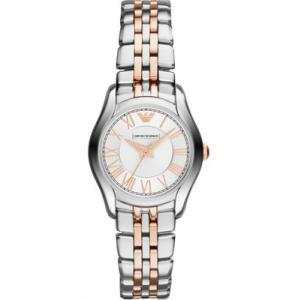 エンポリオアルマーニ レディース 時計(AR1825)シルバー×ピンクゴールド|ryus-select