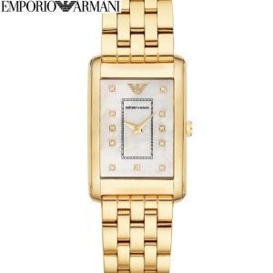 エンポリオアルマーニ EMPORIOARMANI AR1904時計 腕時計 レディースゴールド ホワイトシェル (k-15)|ryus-select