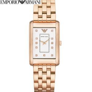 【商品入れ替えクリアランス】エンポリオアルマーニ AR1906 時計 腕時計 スクエア 角型 (k-15) ピンクゴールドの腕時計|ryus-select