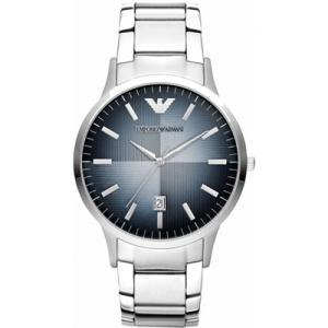 エンポリオアルマーニ メンズ 時計(AR2472)ネイビー×シルバー|ryus-select
