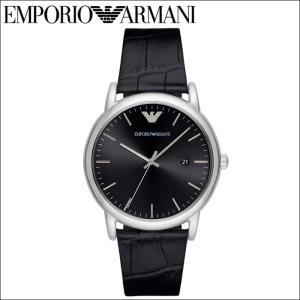エンポリオアルマーニ EMPORIO ARMANIAR2500 腕時計 時計 メンズブラック レザー|ryus-select