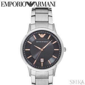 エンポリオアルマーニ EMPORIO ARMANI AR2514時計 腕時計 メンズ シルバー|ryus-select