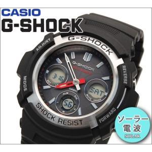 【24】カシオ G-SHOCK/Gショック 腕時計 AWG-M100-1AER/電波ソーラー スタンダードモデル【並行輸入品】 ryus-select