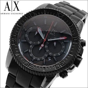 【当店ならお得クーポンあり】アルマーニエクスチェンジ メンズ 腕時計  クロノグラフ/オールブラック(AX1206)(時計)(ウォッチ)|ryus-select