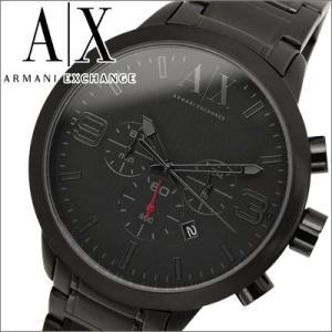 アルマーニエクスチェンジ メンズ 時計 AX1277/ブラック/クロノグラフ|ryus-select