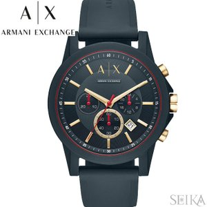 アルマーニエクスチェンジ ARMANI EXCHANGE AX1335時計 腕時計 メンズ グレー ラバー|ryus-select