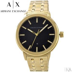 【当店ならお得クーポンあり】アルマーニエクスチェンジ ARMANI EXCHANGE AX1456時計 腕時計 メンズ ゴールド|ryus-select