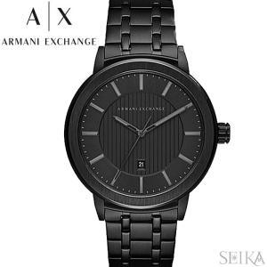 【当店ならお得クーポンあり】アルマーニエクスチェンジ ARMANI EXCHANGE AX1457時計 腕時計 メンズ ブラック|ryus-select