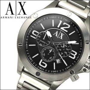 アルマーニ エクスチェンジ/ARMANI EXCHANGEメンズ 時計 AX1501/ブラック×シルバー|ryus-select