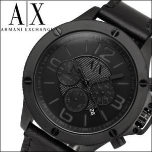 アルマーニ エクスチェンジ/ARMANI EXCHANGEメンズ 時計 AX1508/オールブラック/レザー|ryus-select