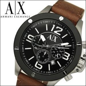 アルマーニ エクスチェンジ/ARMANI EXCHANGEメンズ 時計 AX1509/ブラック×ブラウンレザー|ryus-select
