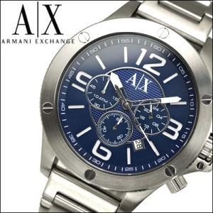 アルマーニ エクスチェンジ/ARMANI EXCHANGE メンズ 時計 AX1512/ブルー×シルバー|ryus-select