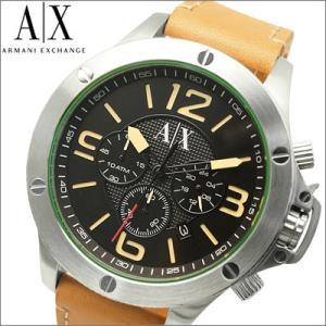 アルマーニ エクスチェンジ メンズ 時計(AX1516)ブラック×キャメル|ryus-select
