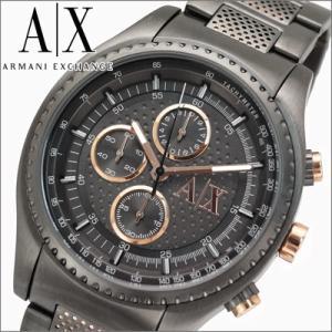 アルマーニエクスチェンジ メンズ 時計 AX1603/ガンメタル×ピンクゴールド|ryus-select