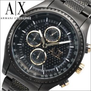 (オータムクリアランス) アルマーニエクスチェンジ メンズ 時計 AX1604/ブラック×ゴールド ryus-select