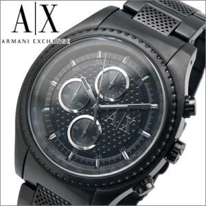 (オータムクリアランス) アルマーニエクスチェンジ メンズ 時計 AX1605/オールブラック ryus-select