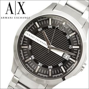 (レビューを書いて5年保証) (サマークリアランス) アルマーニエクスチェンジ ARMANI EXCHANGE メンズ 時計 AX2103 ブラック×シルバー|ryus-select