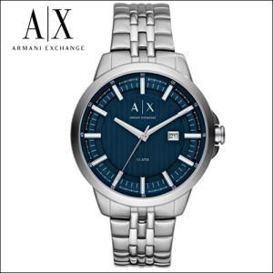 アルマーニ エクスチェンジ ARMANI EXCHANGE メンズ 時計 腕時計(AX2261)ネイビーブルー シルバー ryus-select