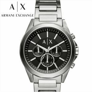 アルマーニエクスチェンジ ARMANI EXCHANGE AX AX2600 腕時計 時計 メンズ ブラック シルバー|ryus-select