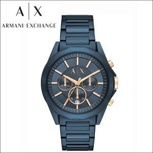 【当店ならお得クーポンあり】 アルマーニエクスチェンジ ARMANI EXCHANGE AXAX2607 腕時計 時計 メンズブルー ピンクゴールド|ryus-select