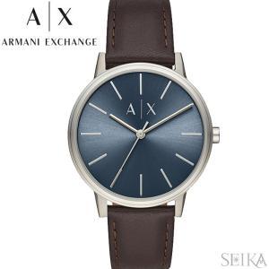 アルマーニエクスチェンジ ARMANI EXCHANGE AX2704時計 腕時計 メンズ ネイビー ブラウン レザー|ryus-select