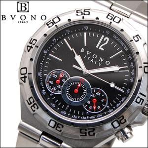 ボーノ BVONO 時計 腕時計 メンズ ブラック B-5587-3|ryus-select