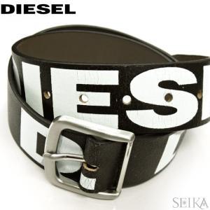 【当店ならお得クーポンあり】【21】DIESEL ディーゼル ヴィンテージ加工 メンズ ベルト X05921|ryus-select