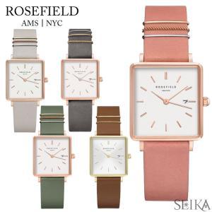 時計 ローズフィールド ROSEFIELD ボクシィ BOXY スクエア 腕時計 レディース レザー  (CPT)|ryus-select