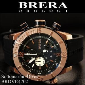 (レビューを書いて5年保証)  (22) ブレラ オロロジ メンズ 時計 ピンクゴールド ラバー (BRDVC4702) 父の日|ryus-select
