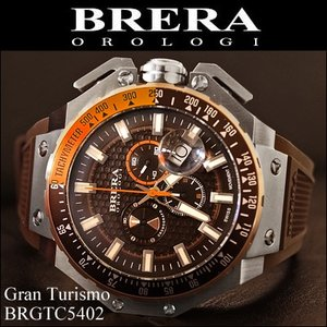 【クリアランス】  (BOX訳有り) ブレラ オロロジ (6)BRGTC5402 メンズ 時計 腕時計|ryus-select